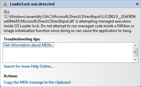 microsoft.directx.directinput.dll windows 10